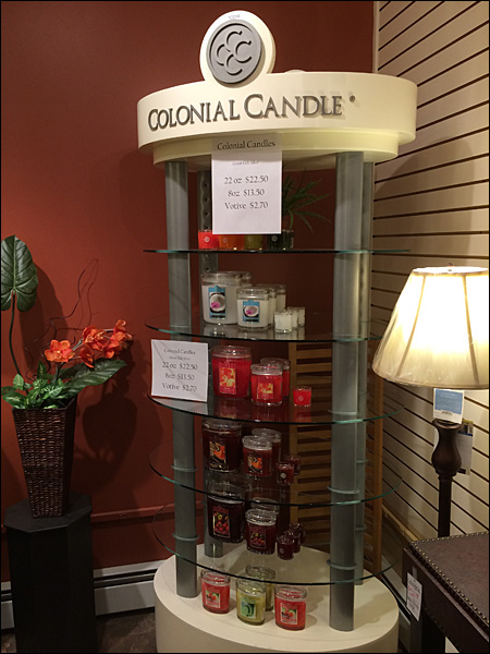 yankee candle display shelf 2