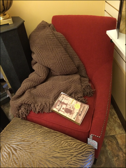 Cozy Chair Prop in Retail Main