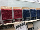 Gravity Feed Carpet Samples Aux