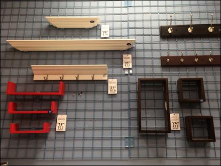 Slatwall Accessories Merchandise Home Depot Wilson
