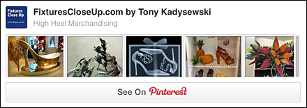High Heel Merchandising Pinterest Board