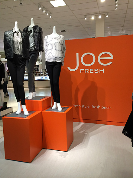 Joe Fresh Brand Billboard All