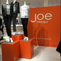 Joe Fresh Brand Billboard All