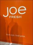 Joe Fresh Brand Billboard CloseUp