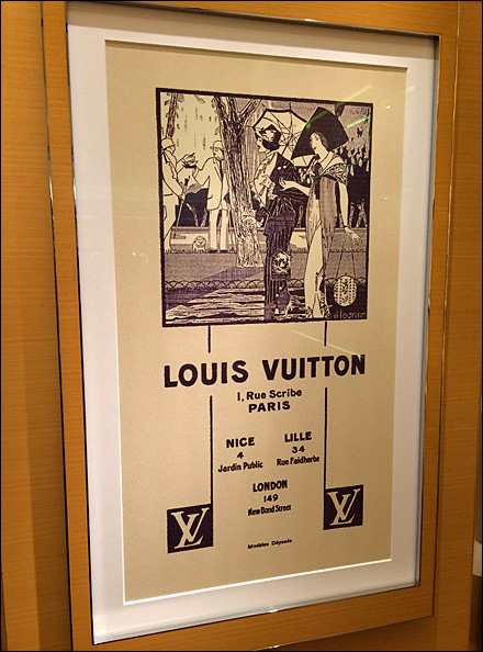 Louis Vuitton Locations in Art Nouveau Main