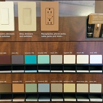 Lutron Switch Color Samples 2