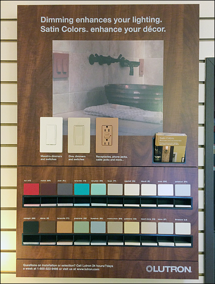 Lutron Switch Color Samples Main