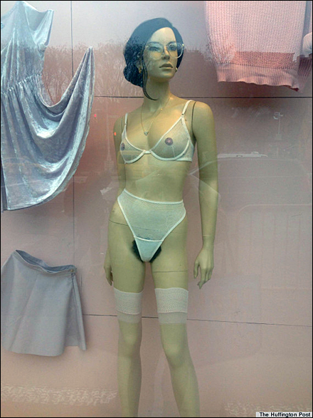 Mannequin with Pubic Hair Main