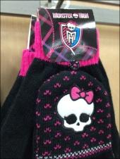 Monster High Skull Cap and Gloves Aux
