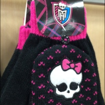 Monster High Skull Cap and Gloves Aux