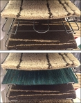 Open Wire Carpet Tray Front