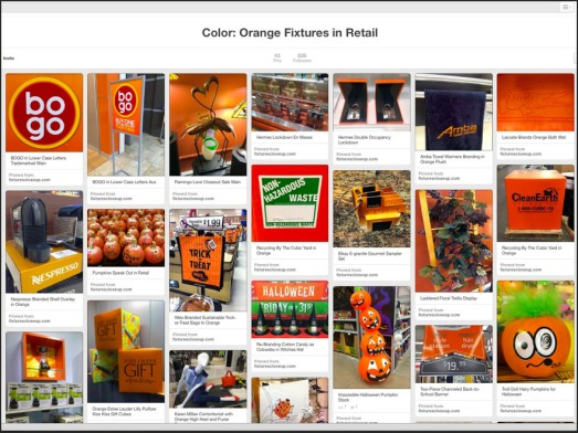 Orange Fixtures in Retail on Pinterest FixturesCloseUp