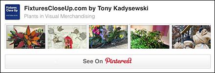 Plants in Visual Merchandising Pinterest Board