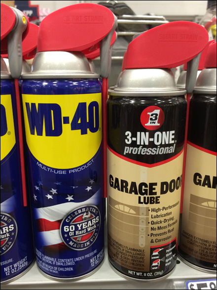 WD-40 vs 3-In-One Shelf-Edge Shootout