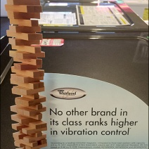 Whirlpool Die-Cut Jenga Feature Front