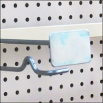 Anti-Sweep Metal Plate Saddle-Mount Bar Hook Detail