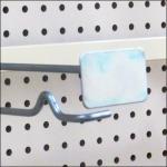 Anti-Sweep Metal Plate Saddle-Mount Bar Hook Detail