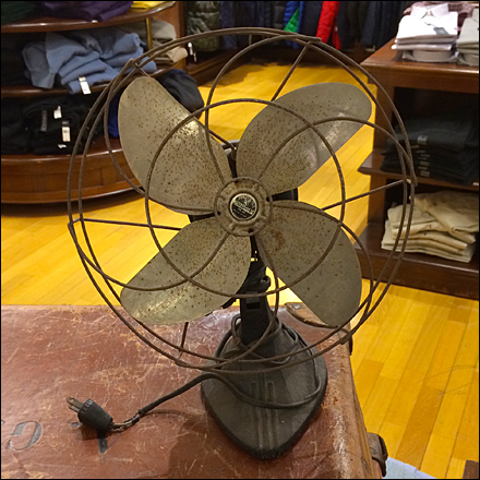 Antique Fan Visual Merchandising Prop Main