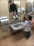 Child-Height Sink and Fixtures 1