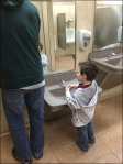 Child-Height Sink and Fixtures 2
