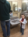 Child-Height Sink and Fixtures 3