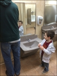 Child-Height Sink and Fixtures 4