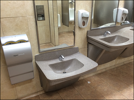 Child-Height Sink and Fixtures Main