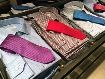 Dress Shirt and Necktie Table 3