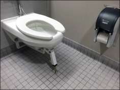 Heavy Load Toilet Kick Stand 1