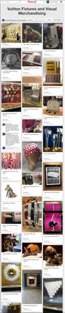 Vuitton Fixtures and Visual Merchandising