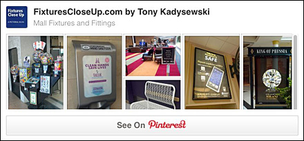 Mall Fixtures and Fittings FixturesCloseUp Pinterest Board