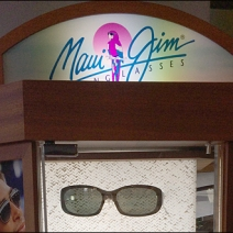 Maui Jim Sunglass Display 2