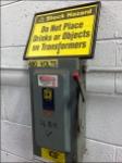Shock Hazard Warning Main
