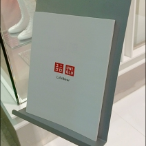 UNIQLO Lifewear Literature Holder Detail