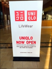 UNIQLO Mall Opening Billboard