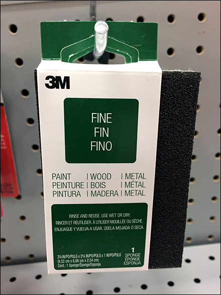 3M Personal Size Sanding Block Front