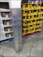Diamond Plate Column Guard in Retail