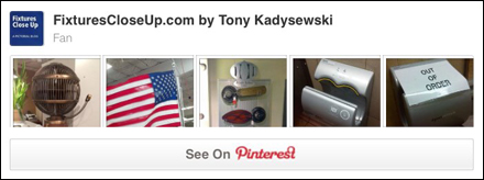 Fan Fixtures and Merchandising Pinterest Board