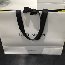 Karen Millen Ribbon-Tied Bag 1