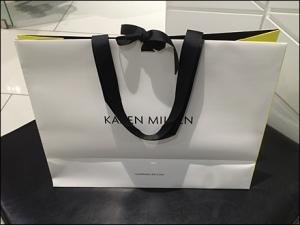 Karen Millen Ribbon-Tied Bag 1
