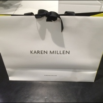 Karen Millen Ribbon-Tied Bag 2
