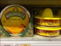 Margarita Salt Merchandising Hats at Shelf-Edge