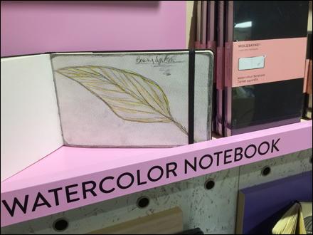 Moleskine WaterColor Notebook Main