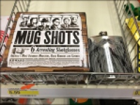 Mug-Shot Shot Glass Merchandising