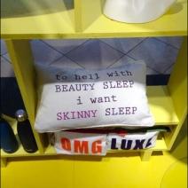 Nordstrom I Want Skinny Sleep Pillow