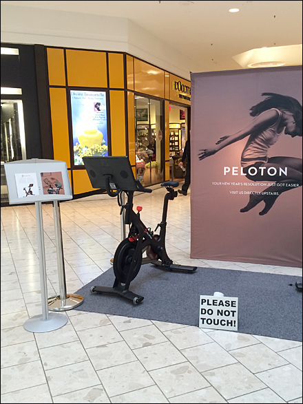 Peloton Do-Not-Touch Exercise Equipment