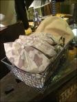 Polo Ralph Lauren Caps in a Basket CloseUp