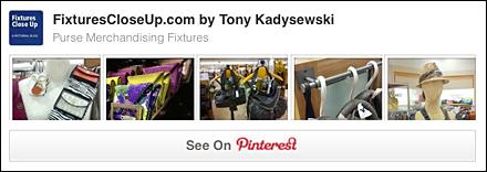 Purse Merchandising Fixtures Pinterest Board
