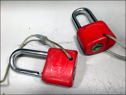 RugDocter Tethered Anti-Theft Locks Main