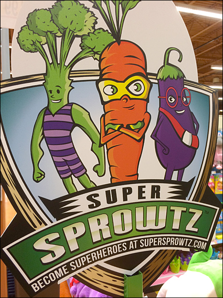 Super Sprowtz Vegetable Heros Main
